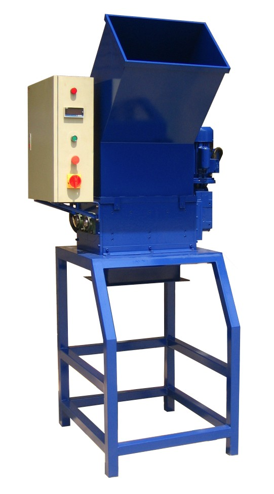 SHREDDING MACHINE FOR POLYSTYRENE WASTE EPS Mod. FS180, Output kg/h 50
