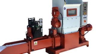 COMPACTEUR DE EPS POLYSTYRENE ECOMAKK Mod.CP250, Production 70-100 Kg/h, Normes CE